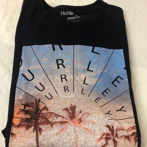 Hurley | Men's short Sleeve Black T Shirt XXL